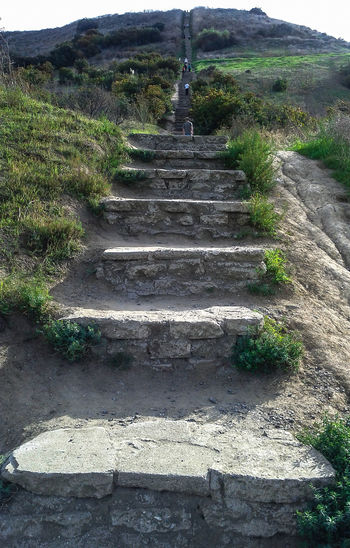 Climbing Stairs Outside Stairs Stone Steps Up Uphill Uphill Battle Uphill Struggle Hillside Hilltop