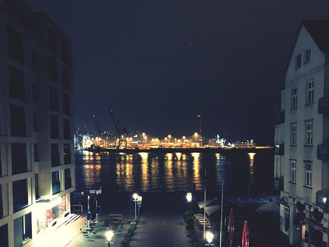 Building Exterior Architecture Night Built Structure Illuminated City Water Reflection Nautical Vessel Sea Harbor No People Outdoors