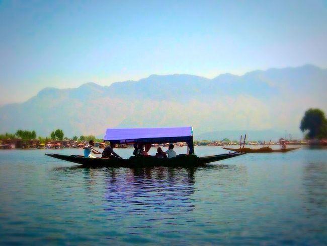 Holiday Memories Shikara Dal Lake Eye Em Nature Lover Eye Em Around The World Eye Em Best Shots Mountains And Valleys Lake View