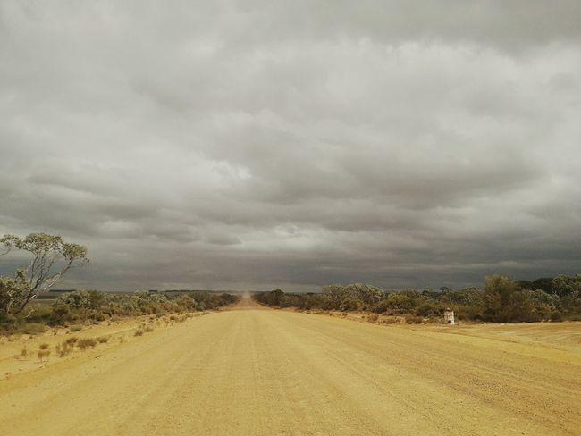 Outback Australia Storm Cloud Dirt Road Outback Australia No People Landscape Nature Roadtrippin Lonelyroad EyeEmNewHere