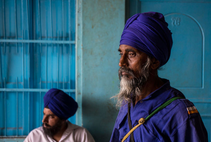 India Travel Travel Photography Architecture Beard Built Structure Cap Day Lifestyles Outdoors People Real People Travel Destinations Turban Two People The Portraitist - 2018 EyeEm Awards