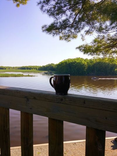 Essence Of Summer Big River Morning Coffee Wolf River Fishing Boat