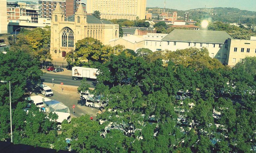 Hello World Pretoria City My View This Morning..