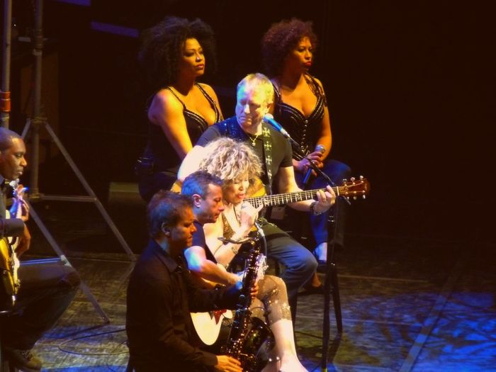 Full In Action Fun In Concert Indoors  Lifestyles München,Germany Night Tina Turner