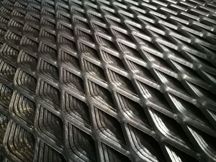 Matal Layer3 Iron - Metal Ironwork  Metal Backgrounds Full Frame Pattern Close-up In A Row LINE