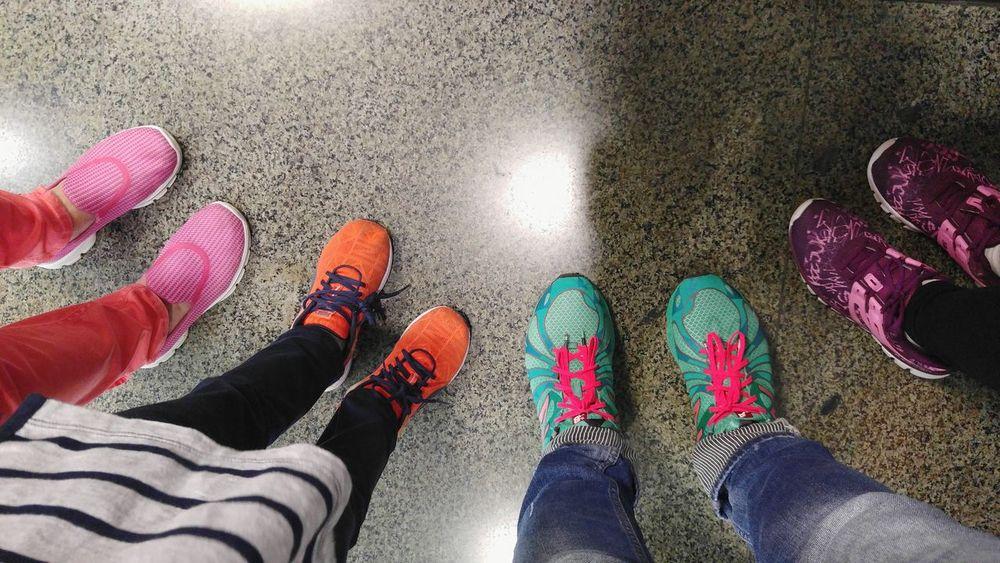Colourful Shoes Colours Shoes Legsselfie