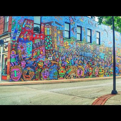 Mural Streetartphotography Graffitiphotography Graffiti art igers_of_wv wv_igers westvirginia