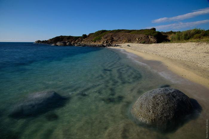 Beach Italian Beach Long Exposure Nature No People Outdoors Rock - Object Sand Sand Dune Sardinia Sea Water