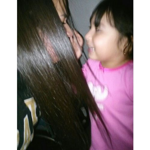 """""""i got your nose!!"""" I love my cousin! <33"""