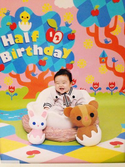 Model Cosplay Half Birthday 6 Months Baby Son Fashion EyeEm Best Shots EyeEm Nature Lover Smile