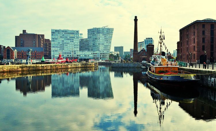 Hi from Liverpool! Landscape_Collection Reflection Liverpool Mirror Landscape Albertdock Home