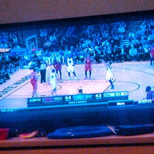 what I'm on right now...NBA RocketsWarriors Basketball