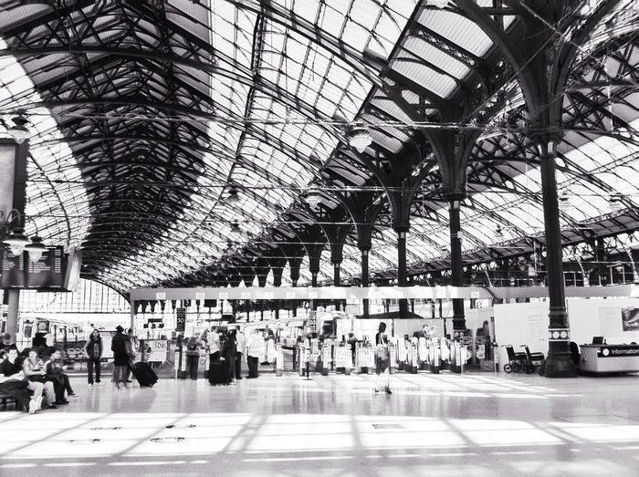 Brighton train station