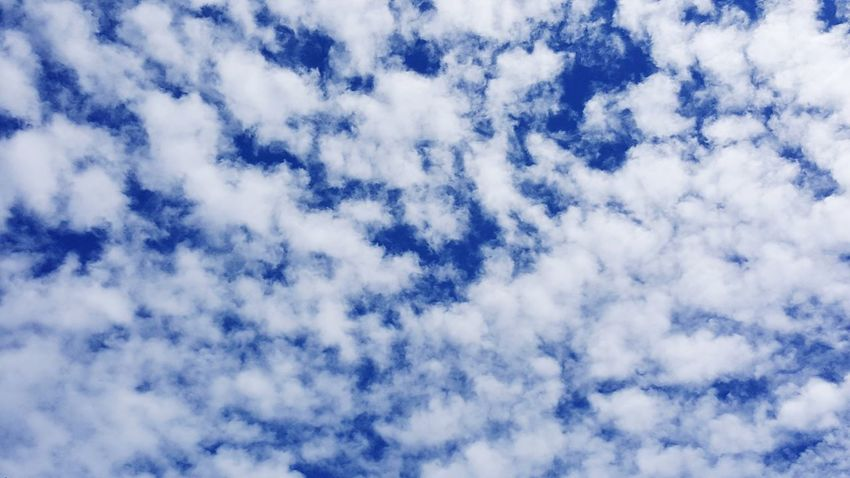 Sky Cloud - Sky Nature Backgrounds Low Angle View Blue Beauty In Nature Abstract No People Full Frame Day Sky Only Outdoors Scenics Close-up Blue Sky White Clouds Cloudy Sunny Day