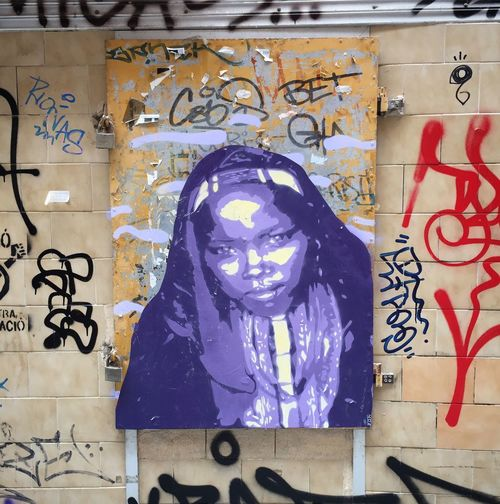 Fresh grafitti