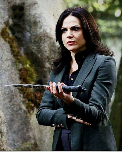 Regina Mills Dagger Lanaparrilla Ouatseason5 One Person One Woman Only Only Women Holding Standing First Eyeem Photo