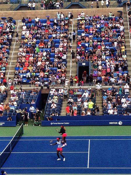 Venus Williams Serena Williams Tenis Hanging Out