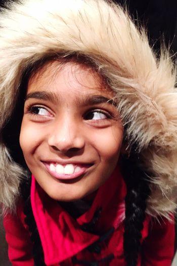 Skinnycheeks Winterred CuteGirls Expressions Hoodieseason  BunnyTeeth Furlover Lovelyfaces Theportraitist-2016eyeemawards The Portraitist - 2016 EyeEm Awards