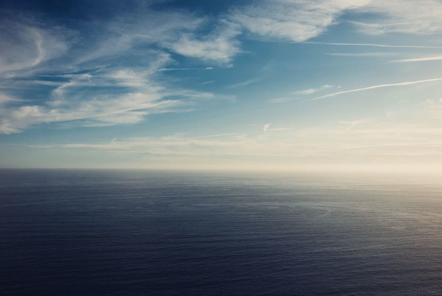Sea Sky Scenics Beauty In Nature Nature Tranquility Horizon Over Water Water No People Tranquil Scene Outdoors Day