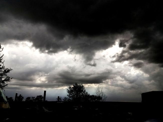 it's coming Landscape Storm Cloud Thunder Storm Storm Thunderstorm Sky Sky And Clouds Clouds Silhouette Ominous Tornado Extreme Weather Countryside