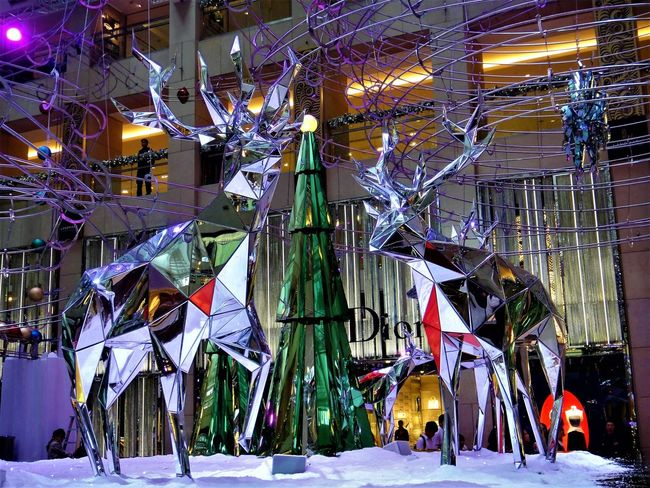 Christmas Celebration Happy Holdays Architecture Chrismas Day Indoors  Lihgts Season  Shoping Mall