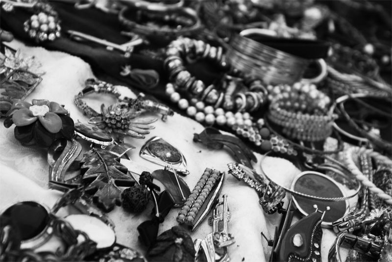 Black And White Flew Flewmarket Jewellery