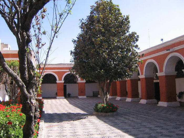 Architecture Arequipa Arequipa - Peru Building Exterior Built Structure Day Monastary Monasterio De Santa Catalina No People Outdoors Tree