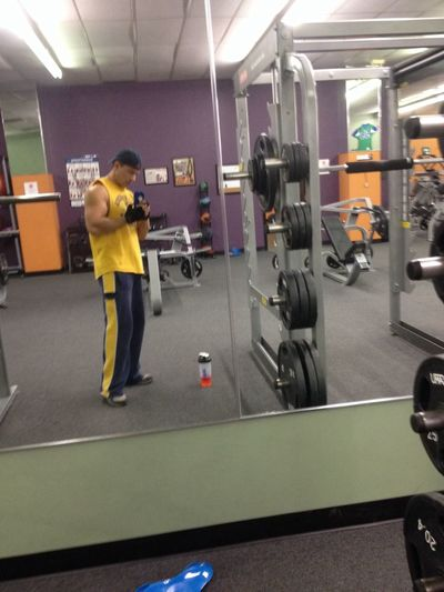 Anytime Fitness Gym Weights