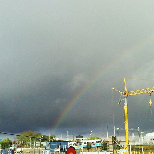 Rainbow Sky Rainbow Spotting Dark Sky