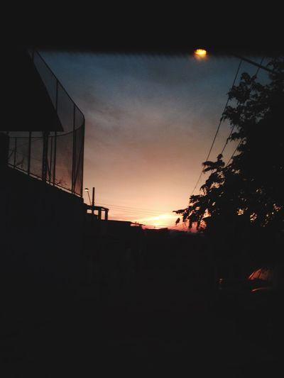 Um amanhecer digno de tds verem.