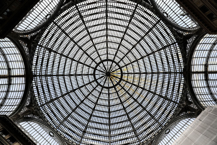 Interior Of Galleria Umberto
