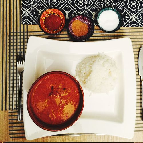 Curry Panjabi Style 🙏🏼 Curry Chicken India Food Rice Makan Tandoori Tikkamasala Eat Fresh First Eyeem Photo