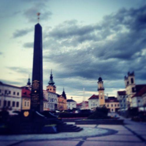 I en by i Slovakien, riktigt trevligt här Slovakia