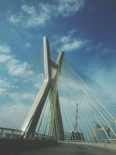 São Paulo Bridge City Brazil