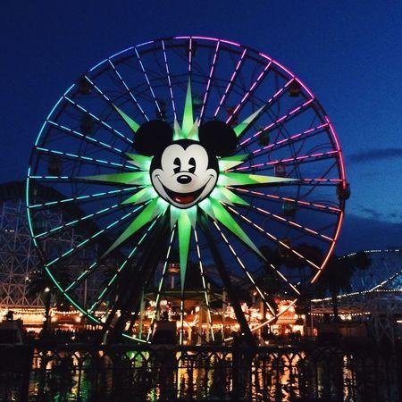 Having Fun Disney Disneyland Relaxing