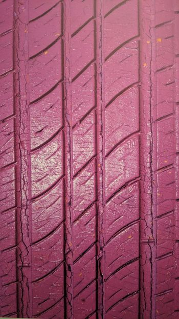 Pink Tire Tread at Art Car Museum in Houston, TX Tire Tread Pink Pink Color Art In Everything Art Car Museum Houston Htown Htx Texas Travel Travel Photography Travel Blogger Good Times Followme Pixelxl2 Backgrounds Full Frame Pink Color Pattern Textured  Close-up