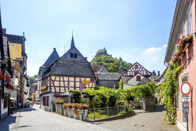 Bacharch, Rhine Valley Bacharch Mittelrhein Mittelrheintal No People Nobody Historical Building Fachwerk Rhein Rhine Valley