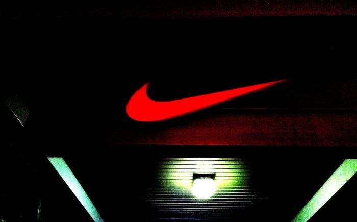 Nike, Just Do It Swoosh Nike Just Do It Signs Advertising Shoe Shop Shoes Footwear