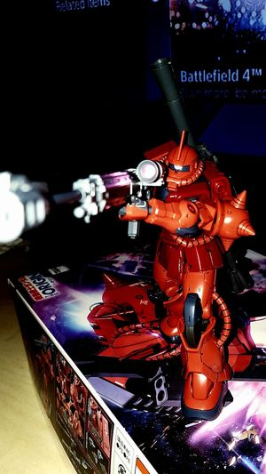 Char zaku 2 Zaku Mobilesuit Gundam Zeon Charzaku2 Gunpla PLAMO Wip