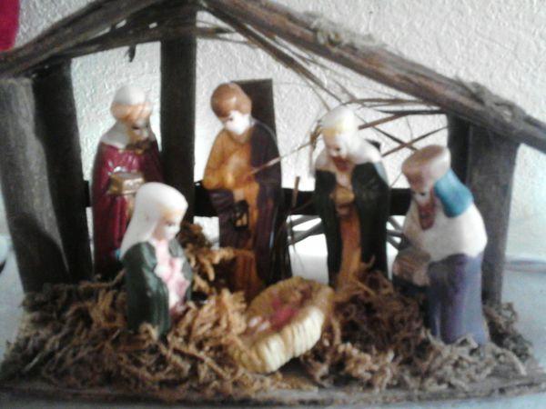 Baby Jesus Nativity My Little Christmas Village