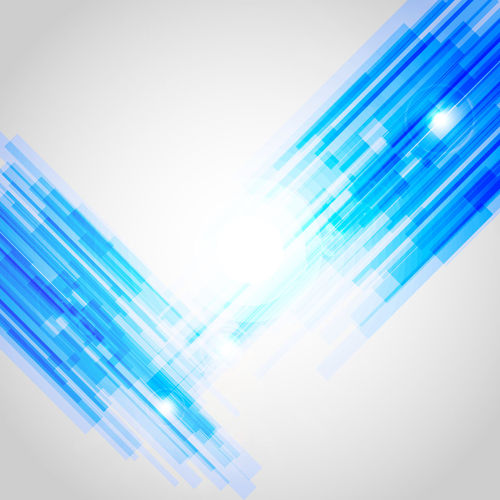 Digital composite image of light bulb against blue background
