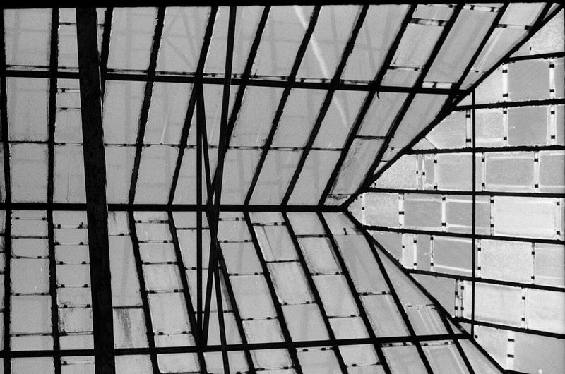 Rooftop View  No People Architecture Outdoors Full Frame Still Life Variation Daydreaming Smena Blackandwhite Blackandwhite Photography Sky And Clouds