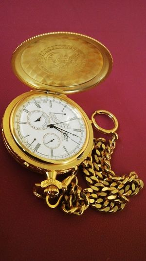 Citizenwatch Intellectus Et Fortitudo Gold Colored Pocket Watch