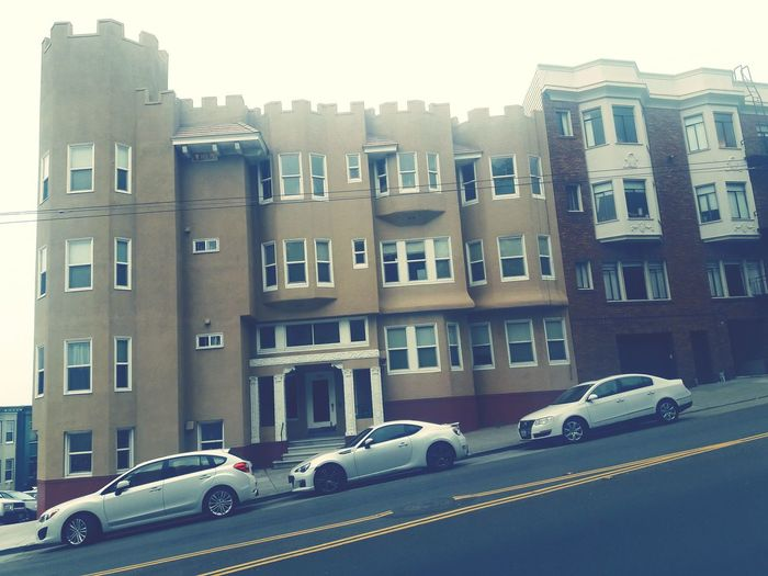 Car Architecture Transportation San Francisco Building Exterior Built Structure Mode Of Transport Residential Structure House Residential Building City Street Parking Residential District Stationary In A Row Apartment Sky Day Outdoors
