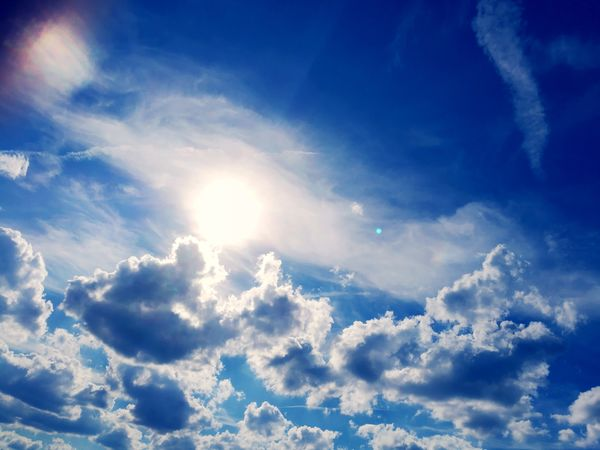 Cloud - Sky Sunbeam Sun Sky Bright Cloudscape Sunlight Beauty In Nature Summer Sky Only People Photography Photography Follow4follow Leica Lens 2017 Belgium Taking Photos Streetphotography Huaweiphotography Photographer Picture Like4like Brussels City Smartphone Photography