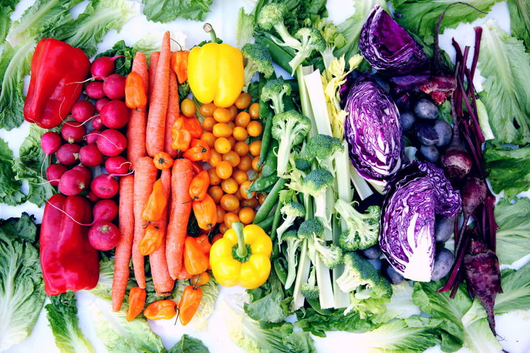Farmers Market Fresh Produce Gardening Natural Rainbow Colors Carrot Choice Colorful Common Beet Food Food And Drink Fresh Food Freshness Healthy Eating Healthy Food Market Organic Food Pepper Produce Purple Raw Food Root Vegetable Still Life Variation Vegetables