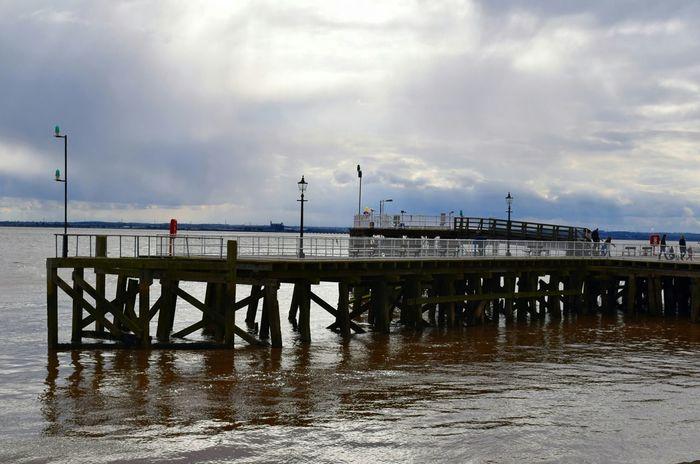 Hull Pier Hull Pier River Water Reflection Hull 2017 City Of Culture 2017 Skyline Hidden Gems