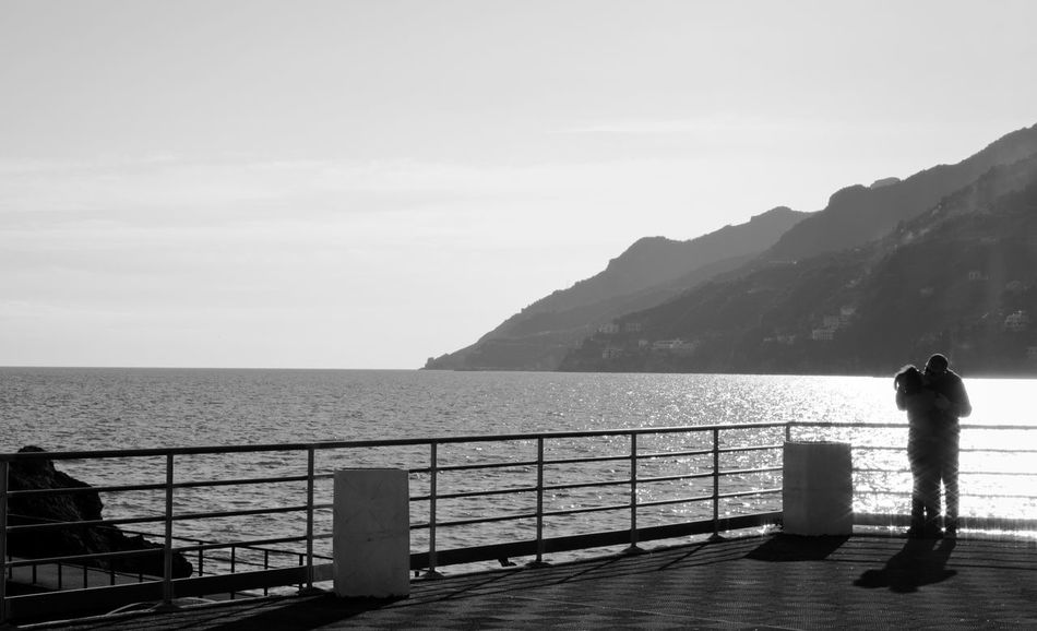 Kiss Kiss Me Lovers Skyline Valentine's Day  Vietri Sul Mare Amalficoast Beauty In Nature Clear Sky Horizon Over Water Iloveyou Italylover Kisses Kissing Lifestyles Scenics Sea Sea And Sky Southitaly Tranquil Scene Two People