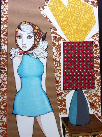Art Picture Genskiart Illustration Midcentury Sixties Retro
