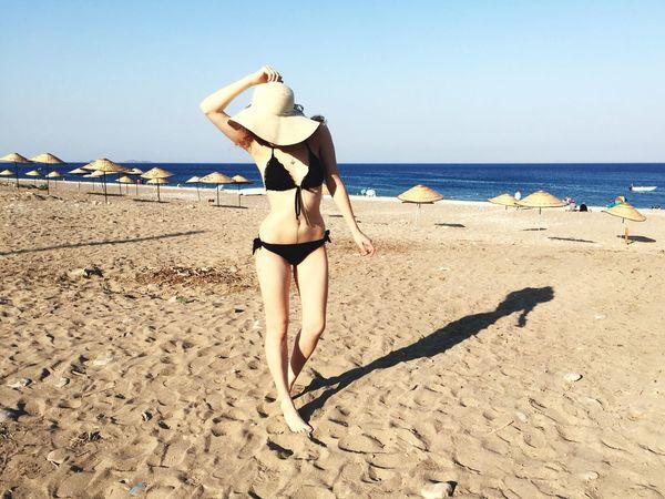 Beach Sea Evening Summer Girl Bikini Open Edit The KIOMI Collection The Portraitist - 2016 EyeEm Awards